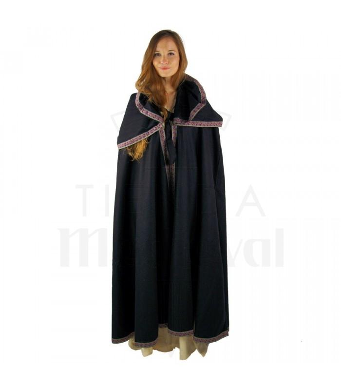 cappuccio cappotto di lana medievale. Mantelli - abbigliamento. 3af30b92ed1