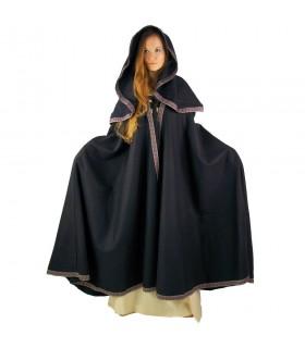 cappuccio cappotto di lana medievale