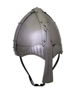 Medievale casco rotondo bollitore, XIV secolo