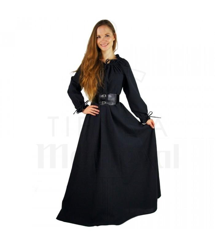 8d109e2bd3ac abito lungo nero donne medievali. Vestiti medievali - Abiti da Donna