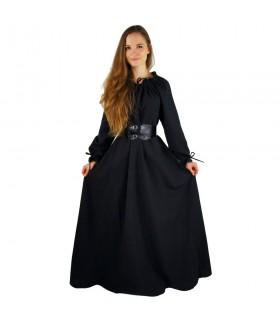 Lungo donna abito medievale