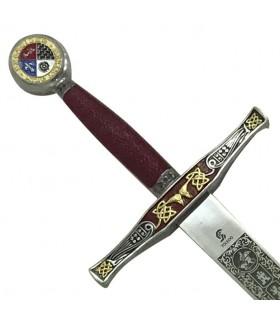 Excalibur la spada decorata