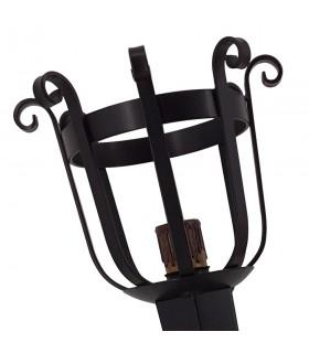 Applicare la torcia in ferro battuto, 1 luce