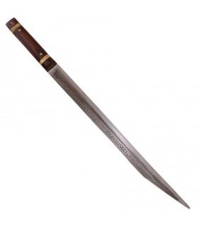Espada Sax anglosajona, siglo IX