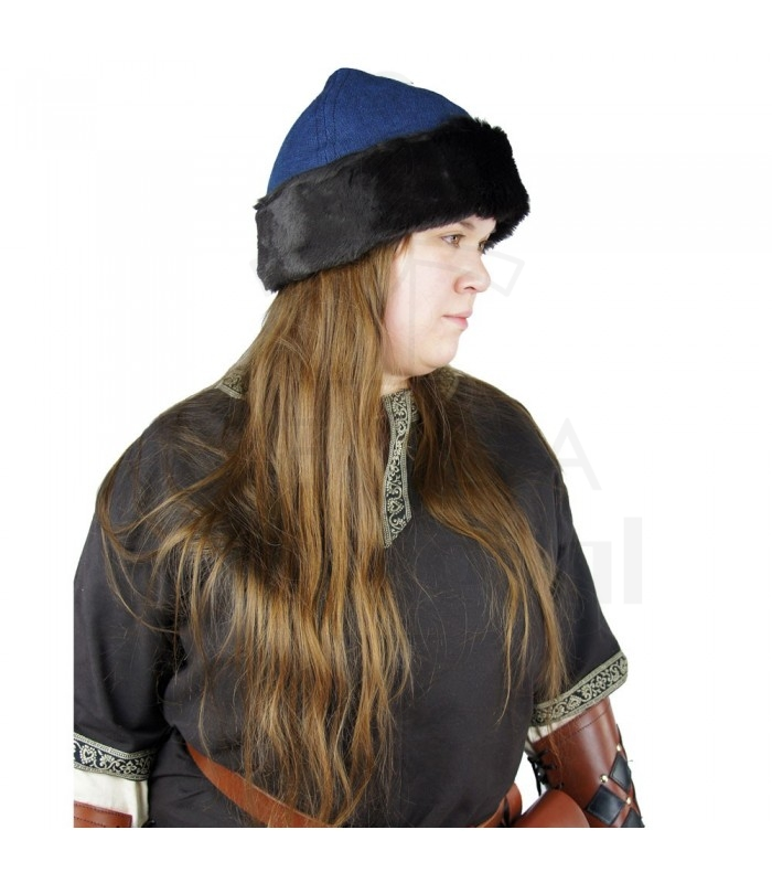 Ulf Blue Hat vichingo. Berretti - Cappelli-Cappelli - complementi. 6e0e6c159fb
