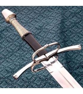 Espada mano y media funcional, siglo XV