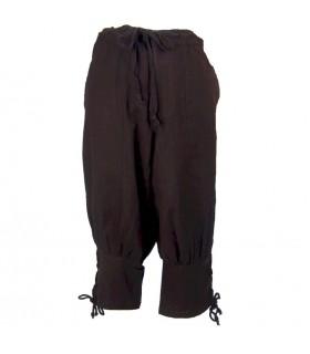 pantaloni di lana marrone vichingo