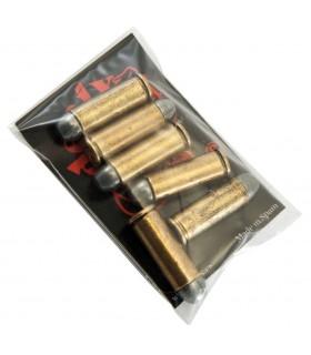 Set di 6 proiettili di revolver 45. USA 1880