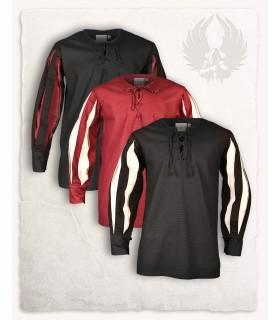 Camicia Toennes nera crema