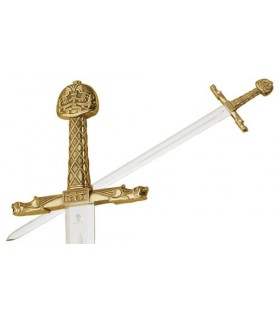 Spada di Carlo Magno bronzo