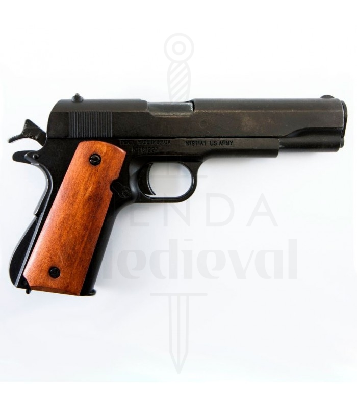 M1911a1Manico ScuroUsa Da Pistola In 1911Armi Legno Automatica 2HIWD9E