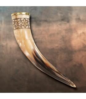 Cuerno vikingo de Freya, 33 cms.