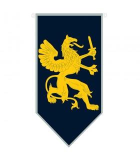 Drago medievale con spada