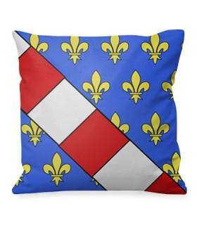 Cuscino medievale Luis Stemma della Francia