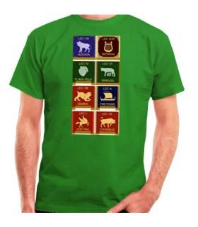 Camiseta Legiones Romanas, manga corta