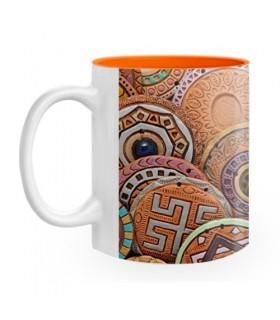 Taza Runas y símbología Celta