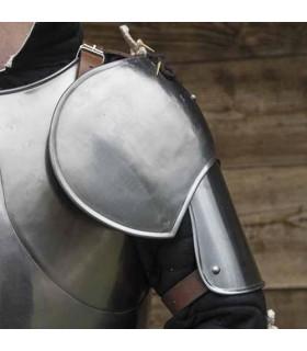 Coppia di spalline Soldato Medievale