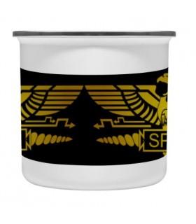 Coppa in ottone smaltato Vintage Legione Romana SPQR