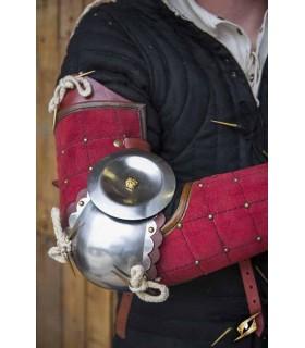 Protezione completa del braccio, Paladino, rosso