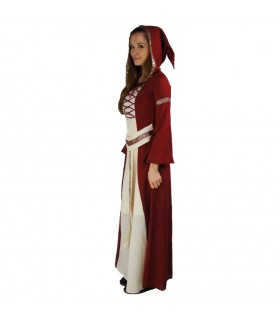 Abito medievale ragazza Eara