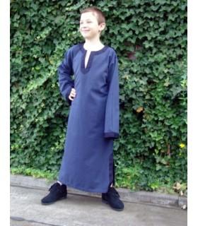 Costume tunica medievale per bambino