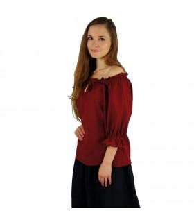 Blusa medievale donne, 2 colori