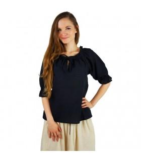 Blusa medievale donne, 3 colori
