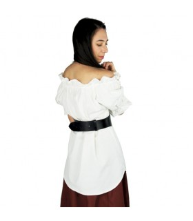 Blusa medievale manica corta
