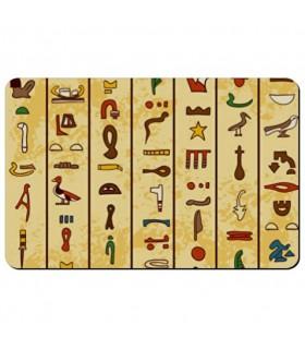 Magnete flessibile rettangolare Geroglifici Egiziani