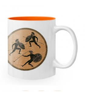 Tazza In Ceramica Guerrieri Spartani