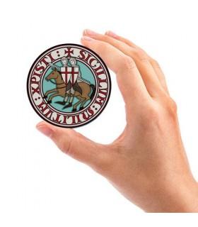Giro magnete Cavalieri Templari (7,4 x 7,4 cm.)