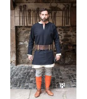 Tunica Medievale Erik nero manica lunga