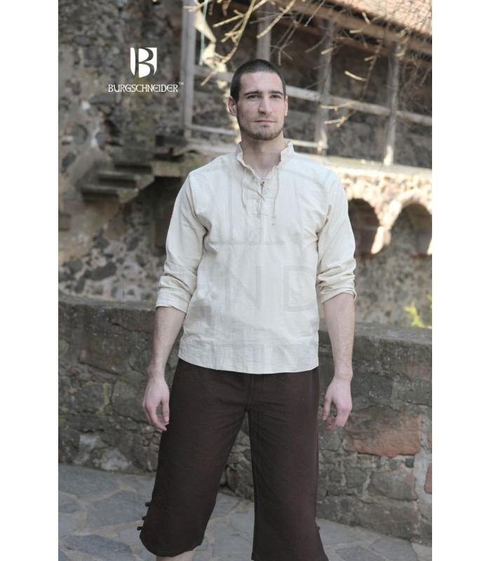 NUOVO Costume Camicia Medievale