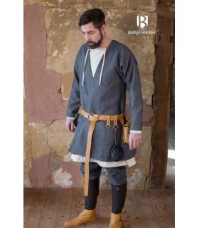 Tunica Medievale Loki grigio manica lunga