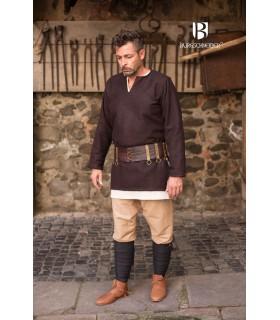Tunica medievale Lodin, marrone