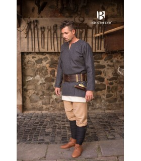 Tunica medievale Lodin, grigio scuro