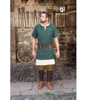 Tunica medievale Aegir, verde