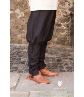 Pantaloni medievale Wigbold, nero