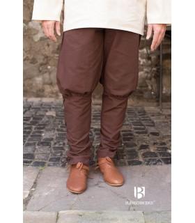 Pantaloni medievale Wigbold, marrone