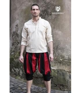 Pirata pantaloni-Maximilians-universität, rosso-nero