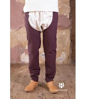Pantaloni medievale Brandolf, marrone