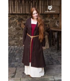 Brial Medievale Aslaug Di Lana Marrone