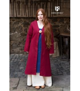 Brial Medievale Aslaug Lana Rossa