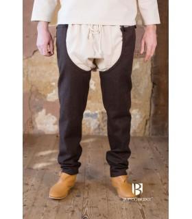 Gambe lana Bernulf, marrone