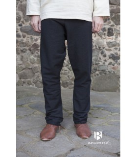 Pantaloni medievale Ragnar, nero