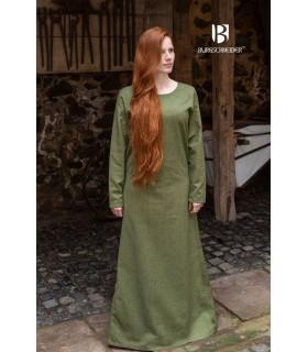 Tunica medievale Freya, verde