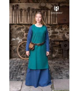 Tunica medievale Freya, blu