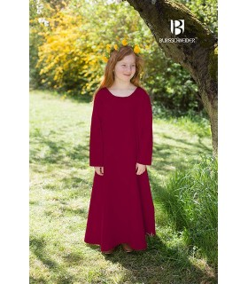 Tunica medievale per le ragazze, Ylvi bordeaux