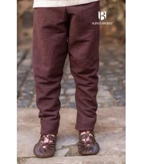 Pantaloni medievale bambino Ragnarsson, marrone