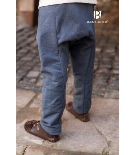 Pantaloni medievale bambino Ragnarsson, grigio